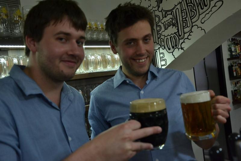 Jakub Seďa a Pavel Binder vymysleli Pivní burzu.